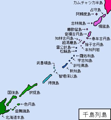 千島列島 ‐ 通信用語の基礎知識